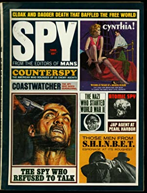 Spy Pulp Magazine 1966- Espionage - WWII FN