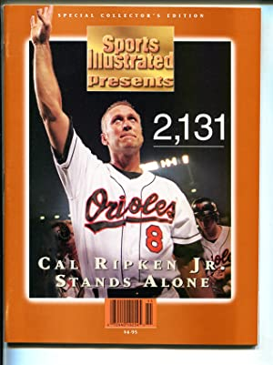 Sports Illustrated 1995-Cal Ripken Jr-Special Edition-MLB-2131 games-VF/NM