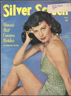 Silver Screen 7/1948-Ava Gardner-Fred Astaire-Susan Hayward-Guy Madison-VG-