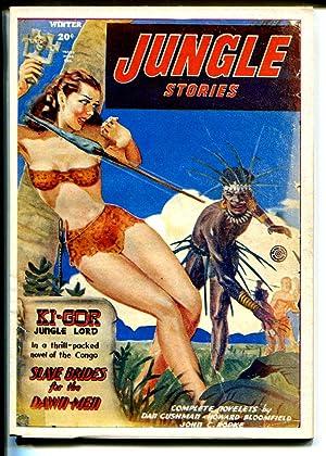 Jungle Stories 1970's-Hanos- reprint of Winter 1948