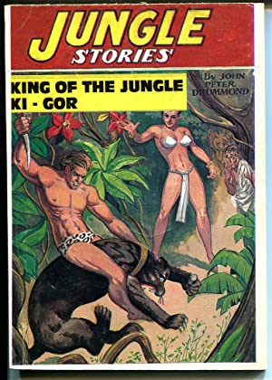 Jungle Stories 1970's-Hanos-reprint of Summer 1948 issue-new