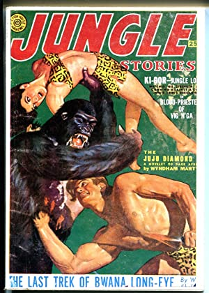 Jungle Stories 1970's-Hanos-reprint of Winter 1951 issue-pulp-FN