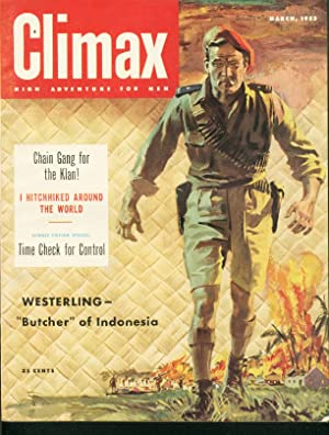 CLIMAX 1953 MARCH-MAU MAUS/KU KLUX KLAN/PULP ACTION