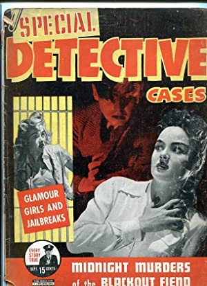 SPECIAL DETECTIVE-SEPT. 1942-MURDERS-BLACKOUT-JAILBREAKS-MONSTERS-HORROR G