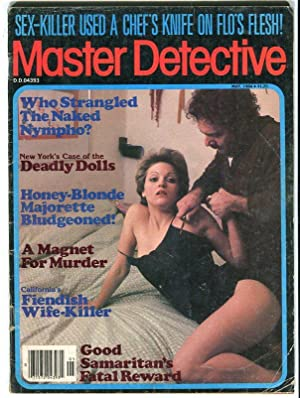 MASTER DETECTIVE-MAY/1984-GOOD SAMARITAN-WIFE-KILLER-NAKED NYMPHO-DEADLY DOLLS G
