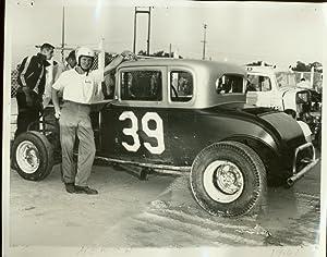 Bobby Hersh #39 Modified Coupe 8x10 Racing Photo- 1961