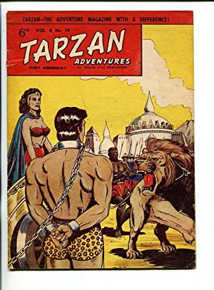 TARZAN ADVENTURES--VOL 8 #14-1958-TARZAN IN CHAINS-vg