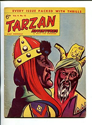 TARZAN ADVENTURES--VOL9 #12-1959-FANTASTIC JOHN CELARDO ART-fn