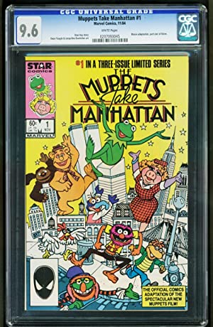 MUPPETS TAKE MANHATTAN #1 1984 -CGC 9.6 -MARVEL- 0207093045