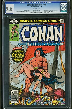 CONAN THE BARBARIAN #100-CGC 9.6 OW-BUSCEMA-MARVEL BRONZE AGE 0207107028