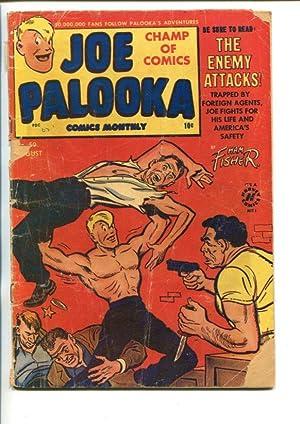 JOE PALOOKA #59-1951-CRIME ISSUE-fr