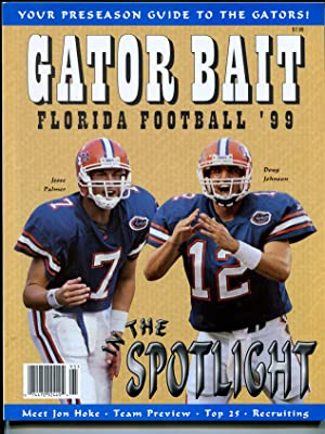 Gator Bait Florida Football Pre-Season Yearbook 1999-Steve Spurrier-VF