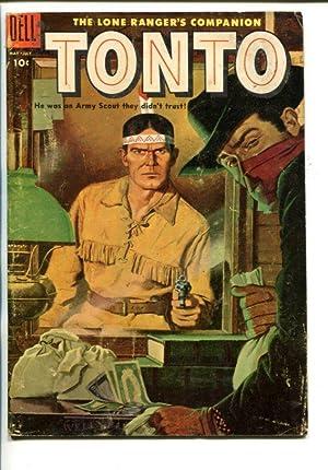 TONTO #19-1955-WESTERN-THE LONE RANGER'S COMPANION-vg