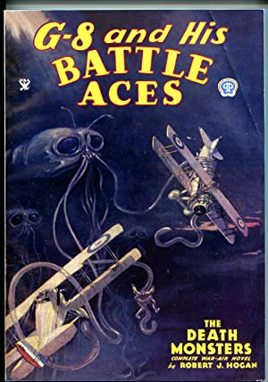 G-8 & His Battle Aces #18 3/1935-Adventure House reprint-2005-Hogan-pulp-VG