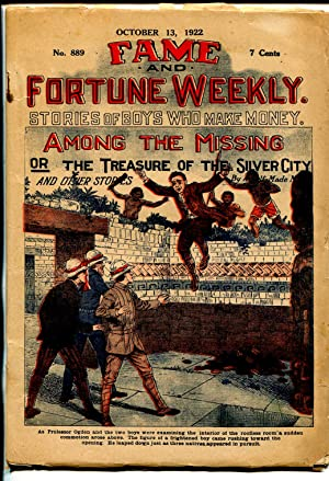 Fame & Fortune Weekly 10/13/1922-dime novel-Among The