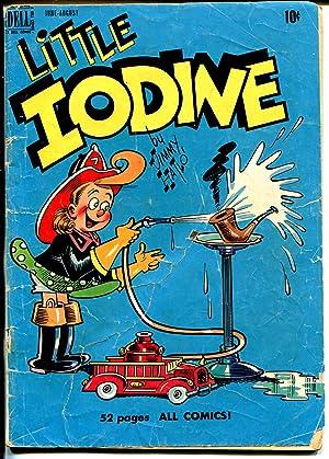 Little Iodine #2 1950-Dell-Jimmy Halto-firefighter cover-G