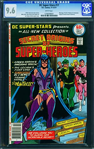 DC Super-Stars #17-CGC 9.6-first Huntress-comic book-1977 1258308001