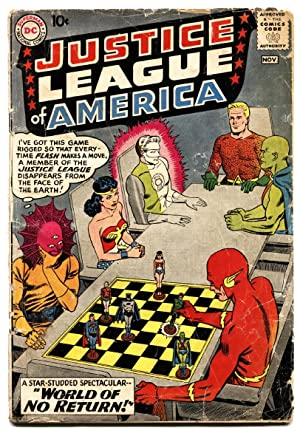 Justice League of America #1 First issue DC key Silver-Age Comic Book