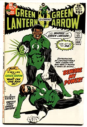 Green Lantern #87 comic book 1st John Stewart. Neal Adams-1972