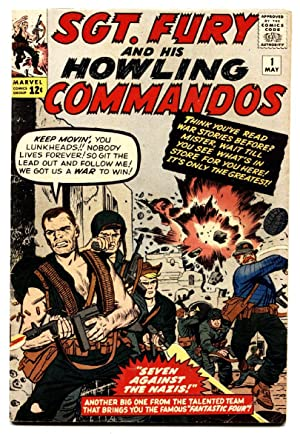 SGT. FURY AND HIS HOWLING COMMANDOS #1 comic book 1963-Marvel Silver-Age Key