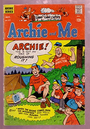 ARCHIE AND ME #17 1967-BETTY & VERONICA-REGGIE-CAMP