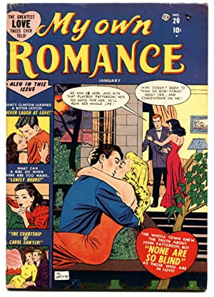 MY OWN ROMANCE #20 1952-ATLAS-MARVEL-GOLDEN AGE
