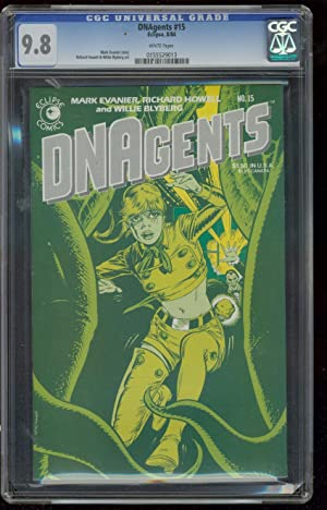 DNAEGENTS #15 1984-HOWELL-BLYBERG- CGC 9.8 HIGHEST COPY 9.8 0155529013
