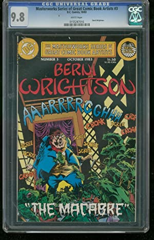 MASTERWORKS SERIES GREAT ARTISTS #3-GRADED CGC 9.8 - 0155287016