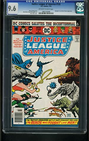 JUSTICE LEAGUE OF AMERICA #132-CGC 9.6-DC-supergirl-batman- 1883142006