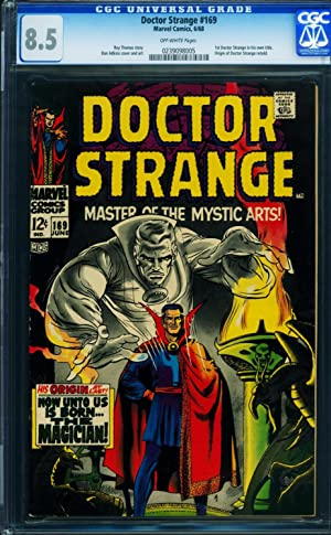 Doctor Strange #169 cgc 8.5 - first issue - 1968 - Marvel key 0239098005