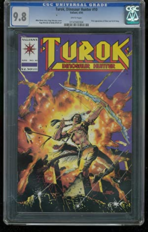 TUROK DINOSAUR HUNTER #10-HIGHEST CGC GRADED 9.8 - 0150582004