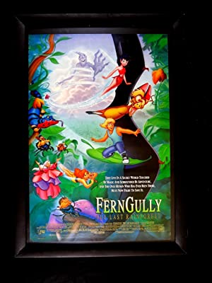FERN GULLY THE LAST RAINFOREST-1992-27X41 ORIG POSTER-ROBIN