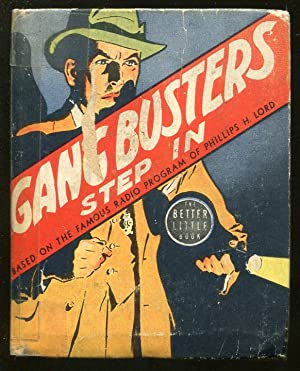 GANG BUSTERS-BIG LITTLE BOOK-#1433-1939-STEP IN-HENRY E VALLELY