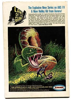 ATOM AND HAWKMAN #39 comic book 1968-DC COMICS-Joe Kubert art! FN+