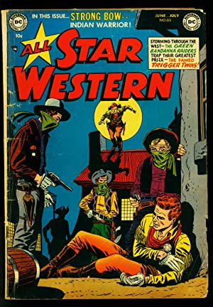 All Star Western #65 1952- DC Comics- Strong Bow- Trigger Twins- VG-