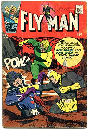 Fly Man #38 1966- The Web- Silver