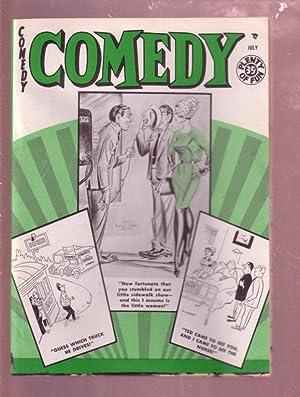 COMEDY Magazine JULY 1961 -POWERHOUSE PEPPER-WOLVERTON-BILL WARD