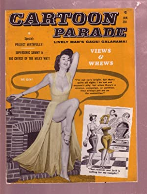 CARTOON PARADE #9 JANUARY 1961-BASIL WOLVERTON-BILL WARD VG/FN