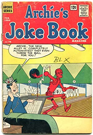 Archie's Joke Book #76 1964- Robot Bowling