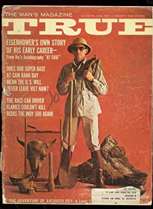 TRUE PULP MAG-6/1967-EISENHOWER-HURTUBISE INDY 500-RARE FR/G