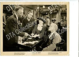 GOIN' TO TOWN-8X10 STILL-1944-COMEDY-CHESTER LAUCK-NORRIS GOFF-BARBARA VG/FN