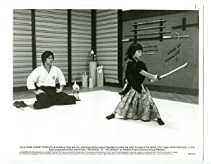 8x10-B&W-Still-Revenge Of The Ninja-Kane Kosugi-Sho Kosugi-Action-1983-VG