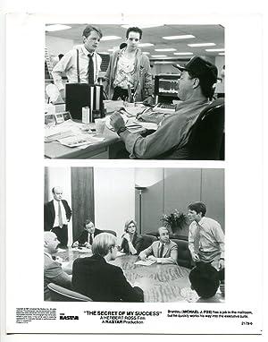 8x10-Still-Secret Of My Success-Michael J. Fox-Comedy-1987-VG