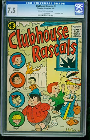 Clubhouse Rascals #1 1956 -CGC 7.5 Southern States - 1173076011