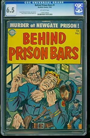 Behind Prison Bars #1-CGC 6.5 Highest Graded- SOUTHERN STATES 1197124022