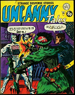 Uncanny Tales #98- Robot cover British Marvel/Atlas Comic VG