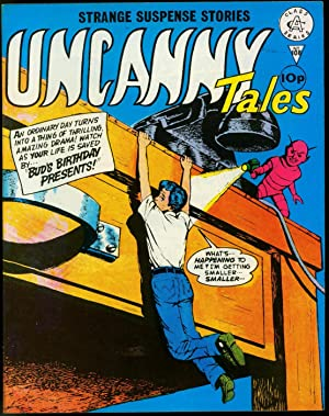 Uncanny Tales #108- Horror and Mystery British Marvel/Atlas Comic VF