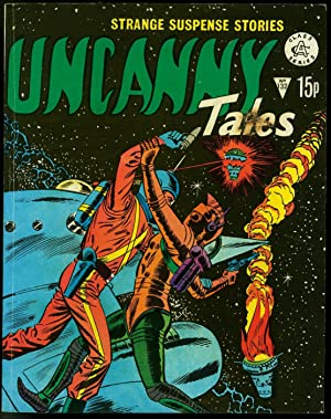 Uncanny Tales #132- Sci-fi and Mystery British Marvel/Atlas Comic VG-