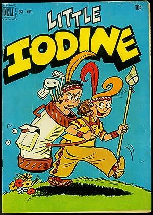 Little Iodine #8 1951- Dell Golden Age-