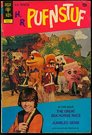 H.R. Pufnstuf #7 1972-CLASSIC TV photo cover- Gold Key VG